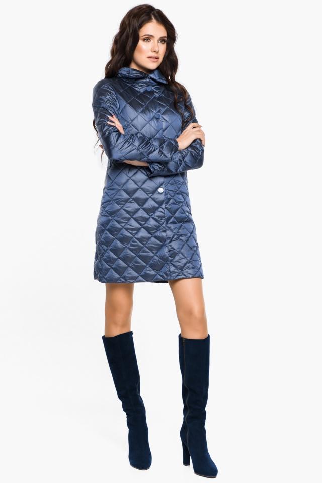 """Модная куртка женская осенне-весенняя цвет ниагара модель 20856 Braggart """"Angel's Fluff"""" фото 5"""
