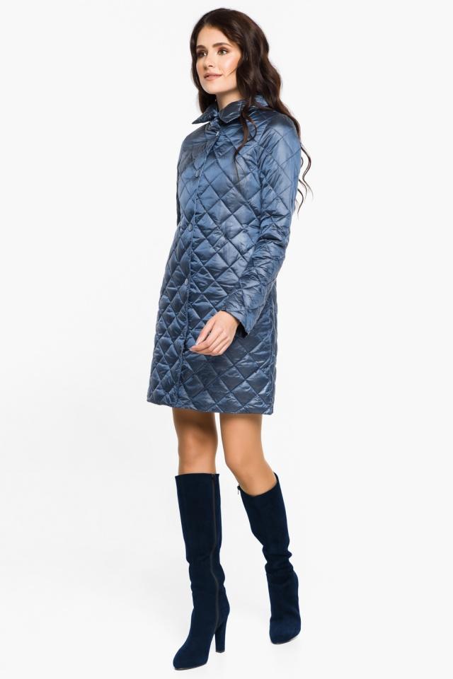 """Модная куртка женская осенне-весенняя цвет ниагара модель 20856 Braggart """"Angel's Fluff"""" фото 4"""