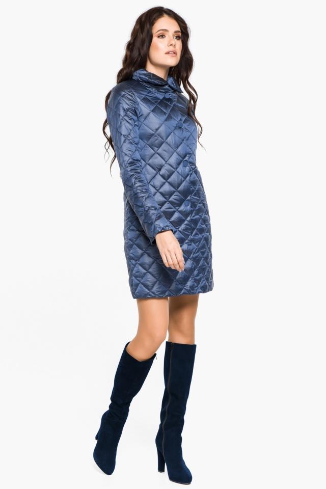 """Модная куртка женская осенне-весенняя цвет ниагара модель 20856 Braggart """"Angel's Fluff"""" фото 2"""