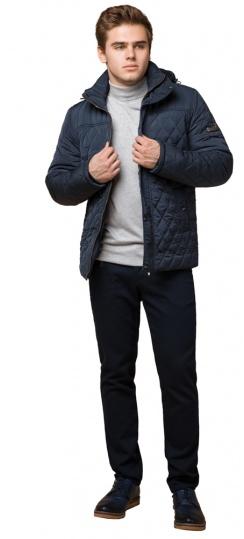 """Модная брендовая зимняя куртка на мальчика светло-синяя модель 24534 Braggart """"Dress Code"""" фото 1"""