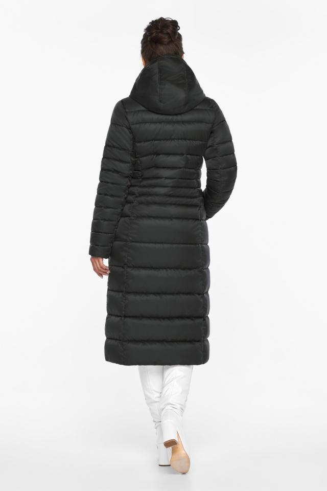 """Куртка зимняя с карманами женская цвет черный модель 43575 Braggart """"Angel's Fluff"""" фото 6"""