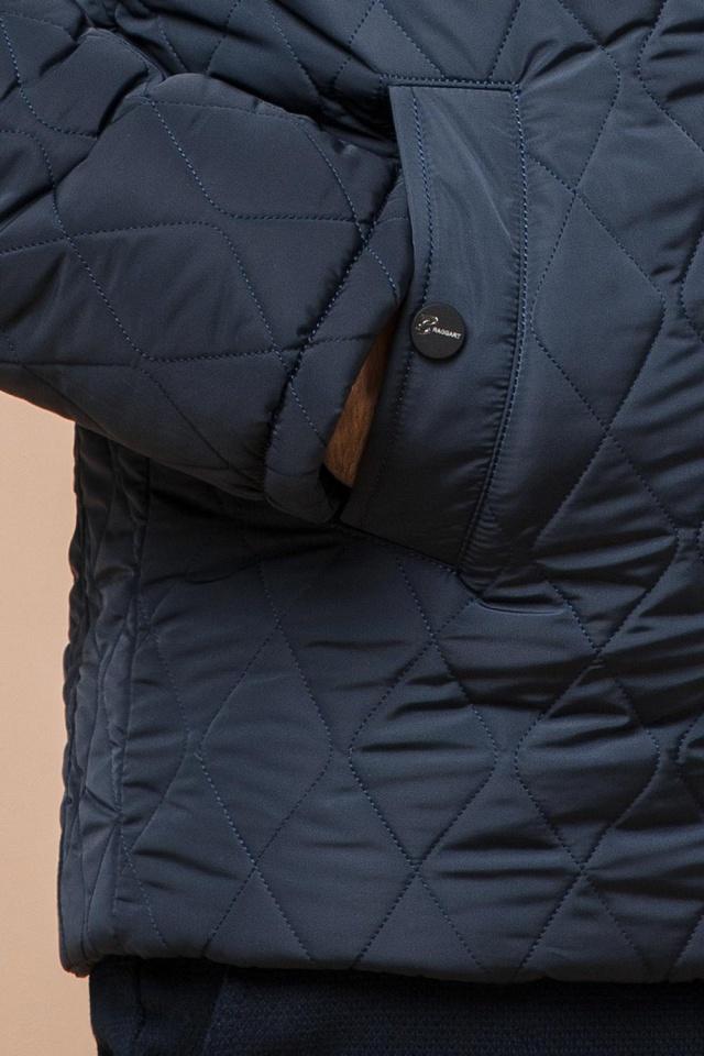"Модна брендова зимова куртка на хлопчика світло-синя модель 24534 Braggart ""Dress Code"" фото 7"
