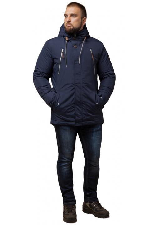 """Парка синя чоловіча зимова стандартної довжини модель 43015 Braggart """"Arctic"""" фото 1"""