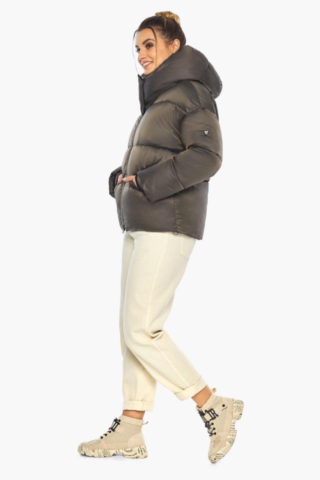 """Капучиновая куртка женская фирменная модель 41975 Braggart """"Angel's Fluff"""" фото 7"""