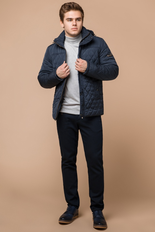 "Модна брендова зимова куртка на хлопчика світло-синя модель 24534 Braggart ""Dress Code"" фото 2"