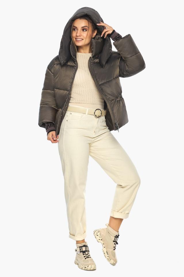 """Капучиновая куртка женская фирменная модель 41975 Braggart """"Angel's Fluff"""" фото 5"""