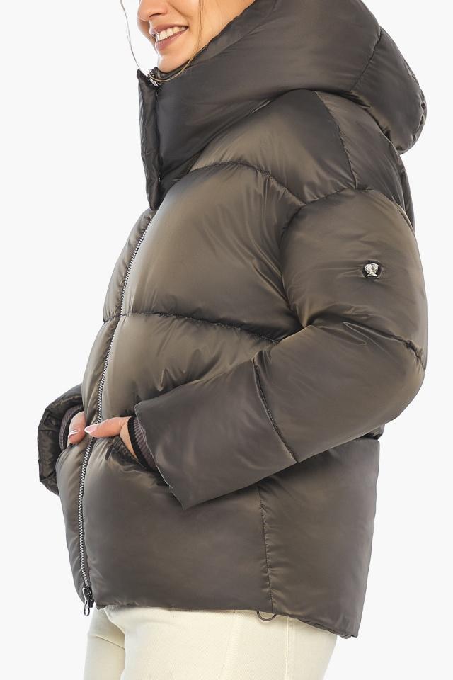 """Капучиновая куртка женская фирменная модель 41975 Braggart """"Angel's Fluff"""" фото 9"""