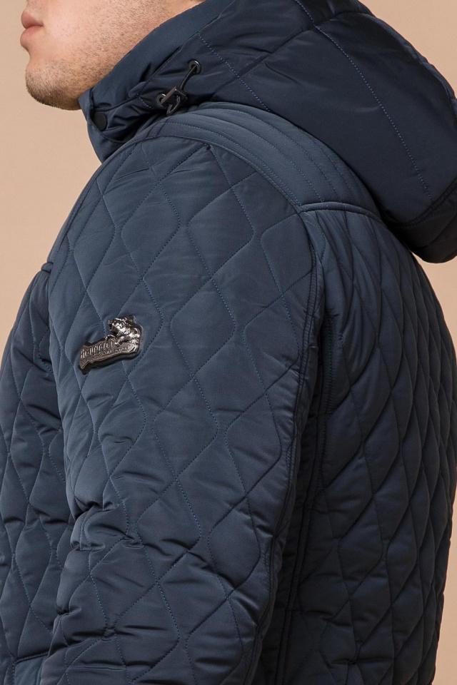 "Модна брендова зимова куртка на хлопчика світло-синя модель 24534 Braggart ""Dress Code"" фото 8"