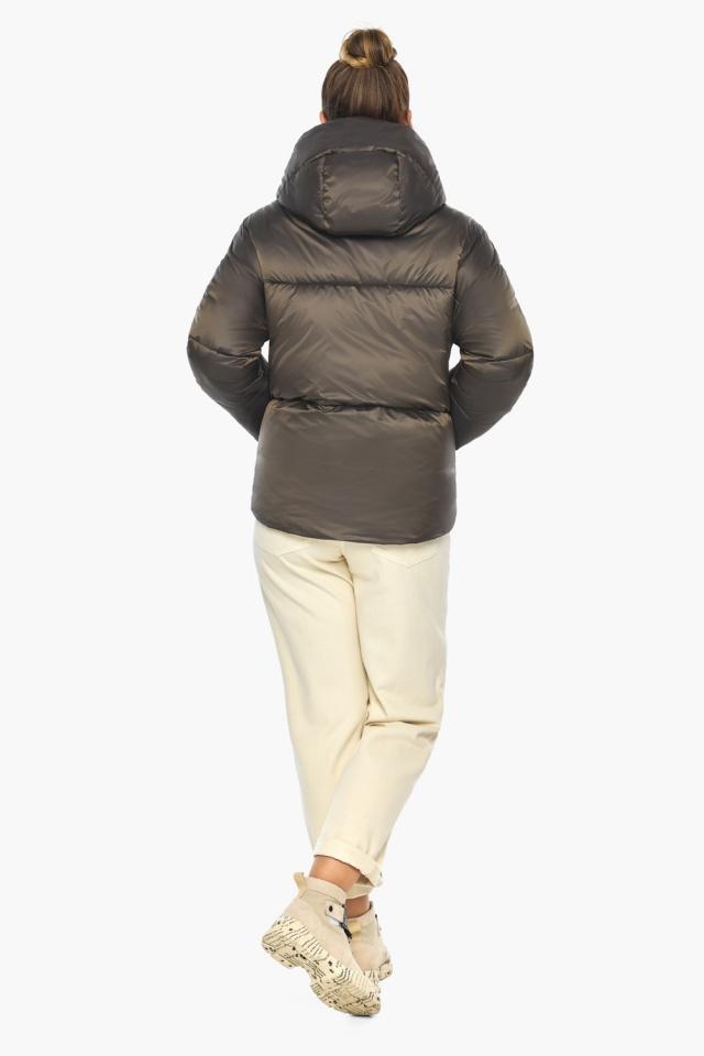 """Капучиновая куртка женская фирменная модель 41975 Braggart """"Angel's Fluff"""" фото 8"""