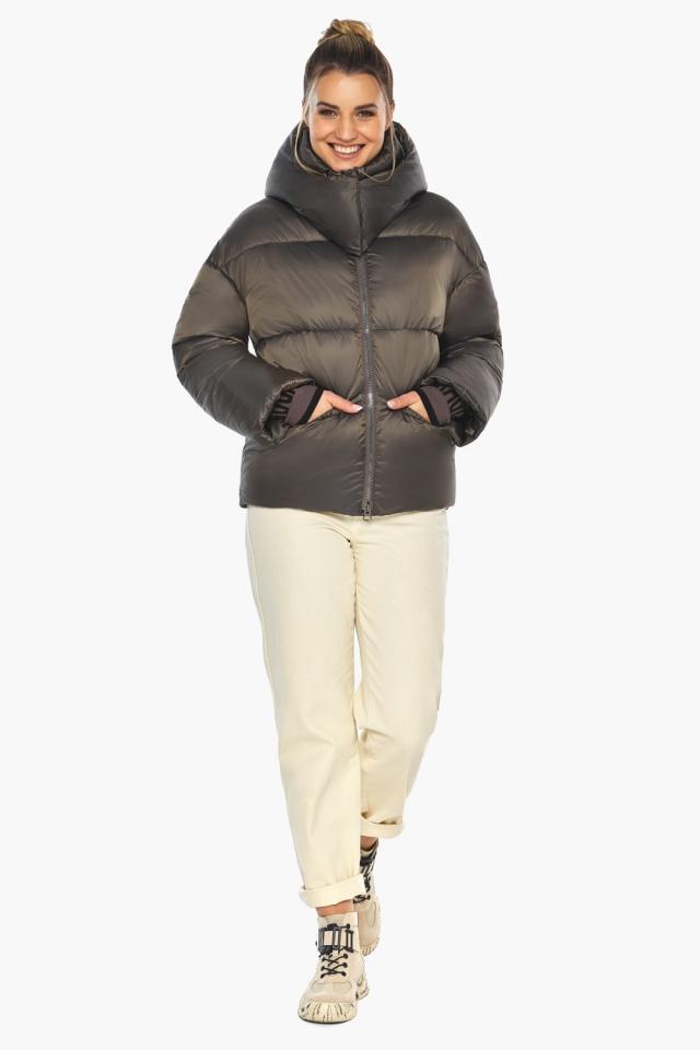 """Капучиновая куртка женская фирменная модель 41975 Braggart """"Angel's Fluff"""" фото 6"""