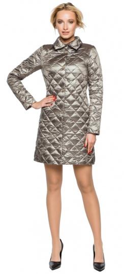 """Куртка практичная женская осенне-весенняя цвет кварцевый модель 20856 Braggart """"Angel's Fluff"""" фото 1"""