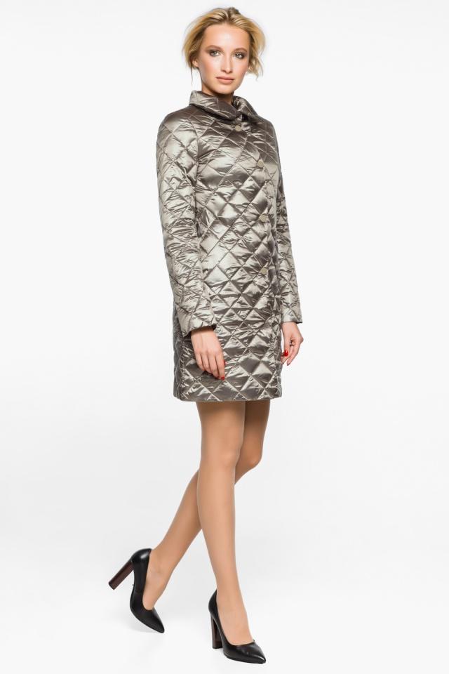 """Куртка практичная женская осенне-весенняя цвет кварцевый модель 20856 Braggart """"Angel's Fluff"""" фото 4"""
