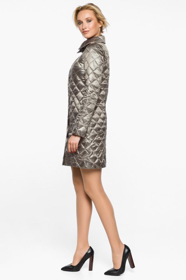 """Куртка практичная женская осенне-весенняя цвет кварцевый модель 20856 Braggart """"Angel's Fluff"""" фото 5"""