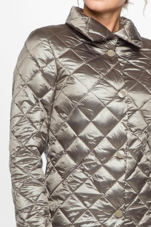 """Куртка практичная женская осенне-весенняя цвет кварцевый модель 20856 Braggart """"Angel's Fluff"""" фото 7"""
