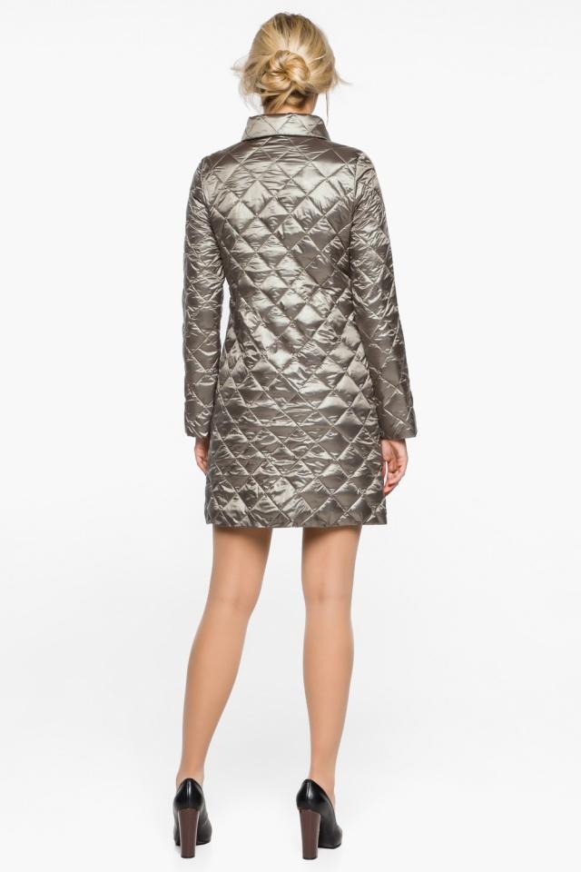 """Куртка практичная женская осенне-весенняя цвет кварцевый модель 20856 Braggart """"Angel's Fluff"""" фото 6"""