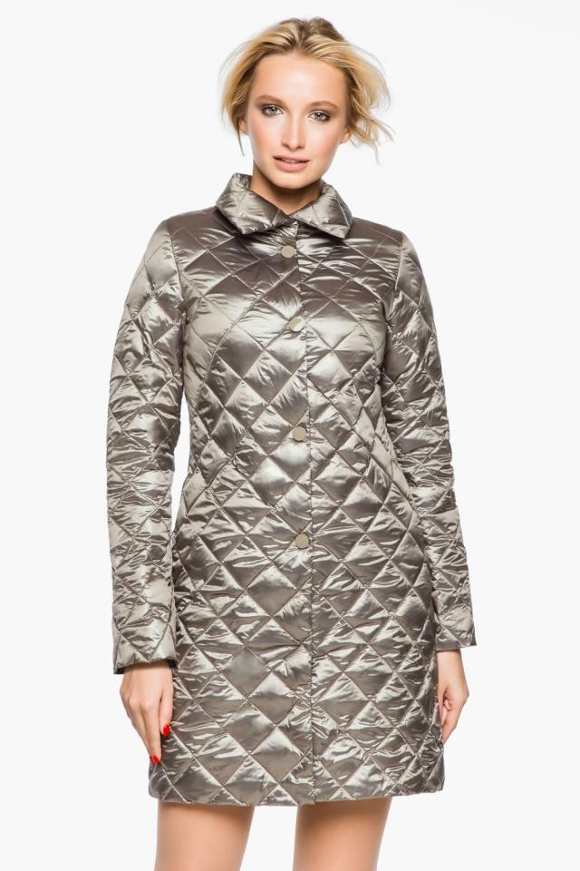 """Куртка практичная женская осенне-весенняя цвет кварцевый модель 20856 Braggart """"Angel's Fluff"""" фото 3"""
