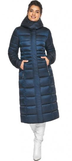 """Сапфировая куртка зимняя женская удобная модель 43575 Braggart """"Angel's Fluff"""" фото 1"""