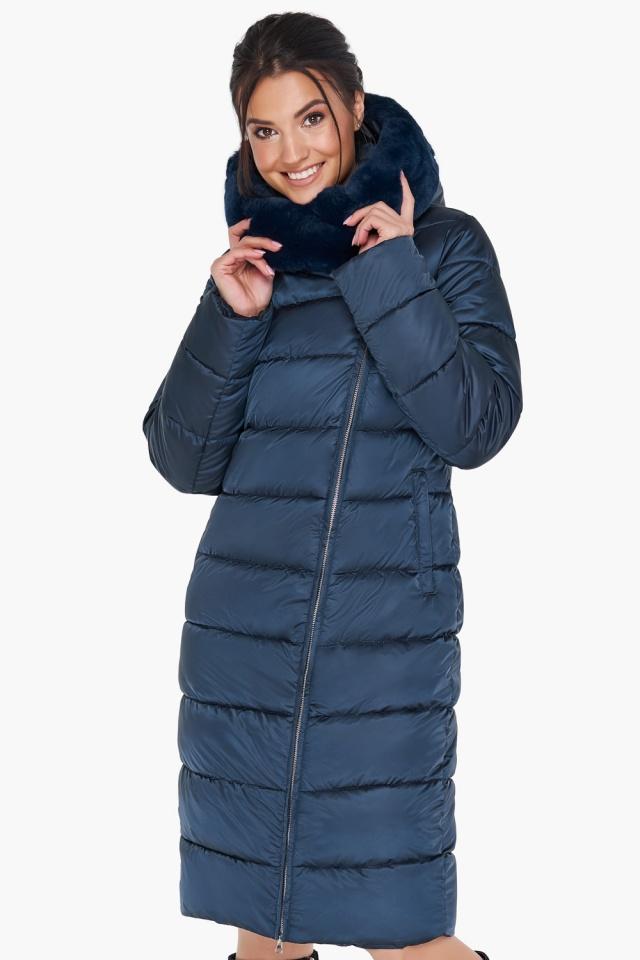 """Женская куртка сапфировая оригинальная модель 31049 Braggart """"Angel's Fluff"""" фото 4"""