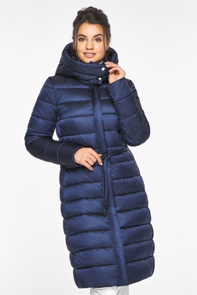"Женская куртка зимняя цвет синий бархат модель 44860 Braggart ""Angel's Fluff"" фото 5"