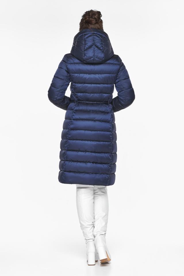 "Женская куртка зимняя цвет синий бархат модель 44860 Braggart ""Angel's Fluff"" фото 7"