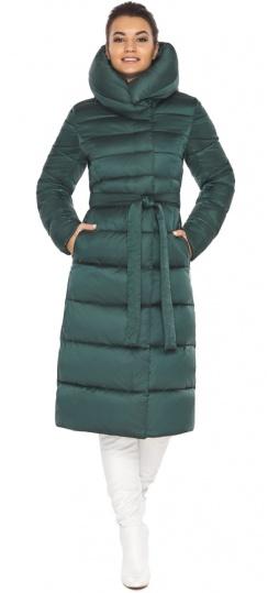 """Модная куртка женская зеленая модель 31515 Braggart """"Angel's Fluff"""" фото 1"""