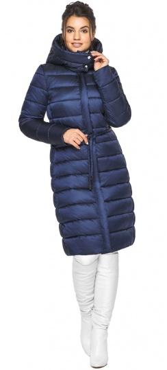 "Женская куртка зимняя цвет синий бархат модель 44860 Braggart ""Angel's Fluff"" фото 1"