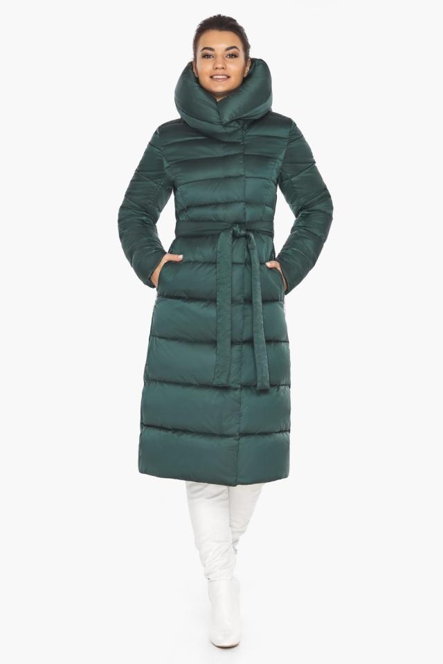 """Модная куртка женская зеленая модель 31515 Braggart """"Angel's Fluff"""" фото 2"""