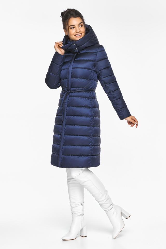 "Женская куртка зимняя цвет синий бархат модель 44860 Braggart ""Angel's Fluff"" фото 6"