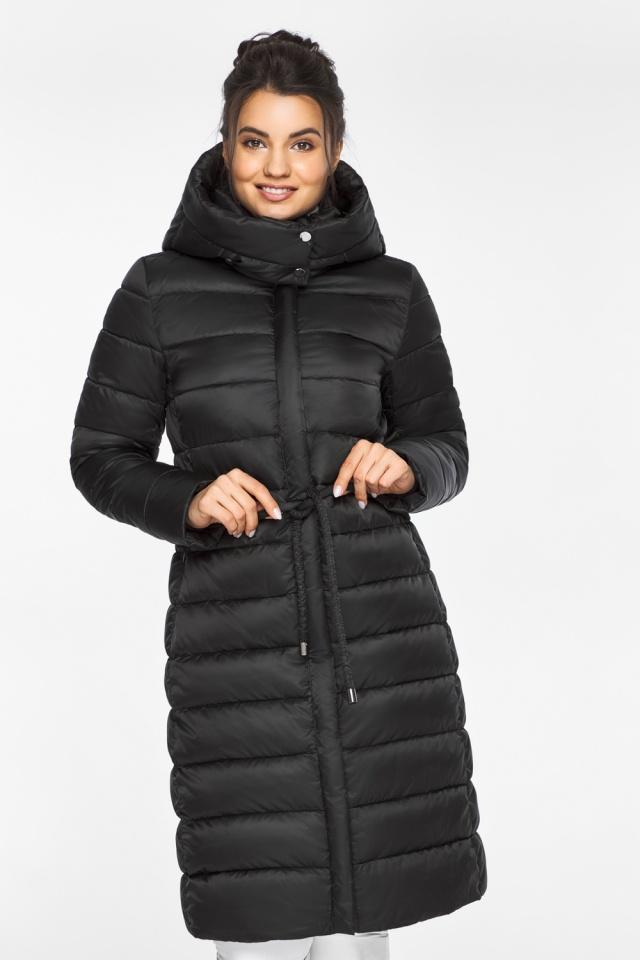 """Куртка теплая зимняя женская цвет черный модель 44860 Braggart """"Angel's Fluff"""" фото 3"""