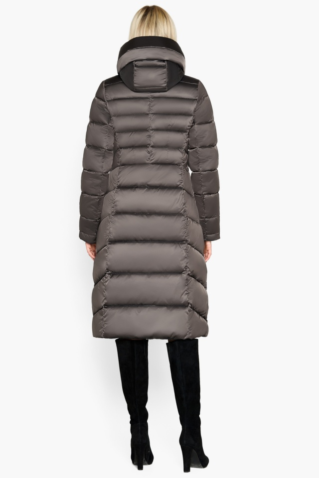 """Фирменная куртка женская цвет капучино модель 31515 Braggart """"Angel's Fluff"""" фото 5"""