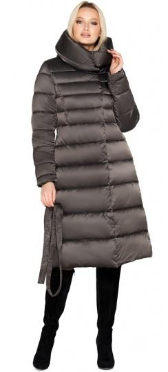"""Фирменная куртка женская цвет капучино модель 31515 Braggart """"Angel's Fluff"""" фото 1"""