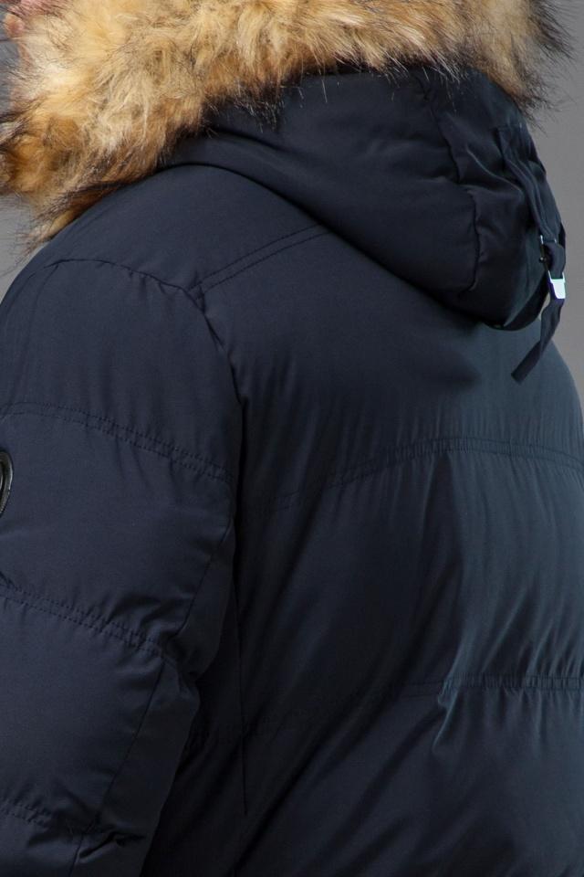 Мужская синяя зимняя куртка модель 72160