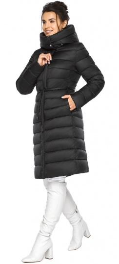 """Куртка теплая зимняя женская цвет черный модель 44860 Braggart """"Angel's Fluff"""" фото 1"""