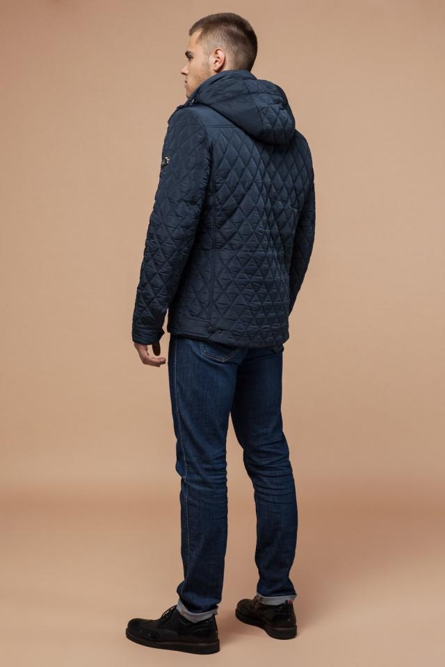 """Трендовая куртка для мальчика зимняя светло-синяя модель 1698 Braggart """"Dress Code"""" фото 5"""