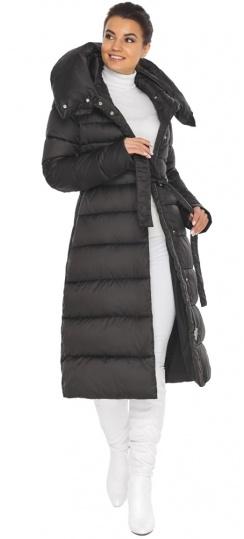 """Черная куртка женская удобная модель 31515 Braggart """"Angel's Fluff"""" фото 1"""