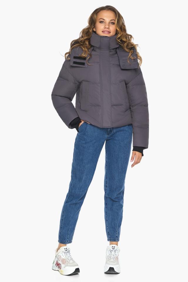 Бренд Youth – подростковая куртка на осень графитовая модель 27450 Youth фото 3