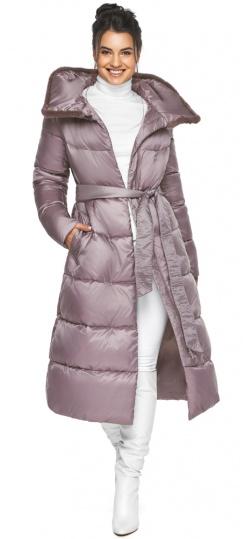 """Женская куртка зимняя удобного фасона цвет пудра модель 45085 Braggart """"Angel's Fluff"""" фото 1"""