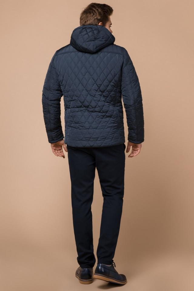Светло-синяя куртка для мужчин зимняя короткая модель 24534