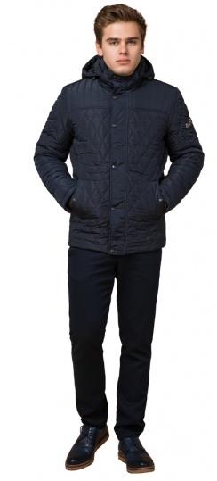 "Стёганая зимняя куртка на мужчину синяя модель 24534 Braggart ""Dress Code"" фото 1"