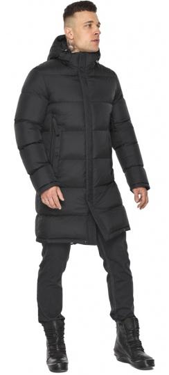 """Стильная мужская чёрная куртка зимняя модель 49773 Braggart """"Dress Code"""" фото 1"""