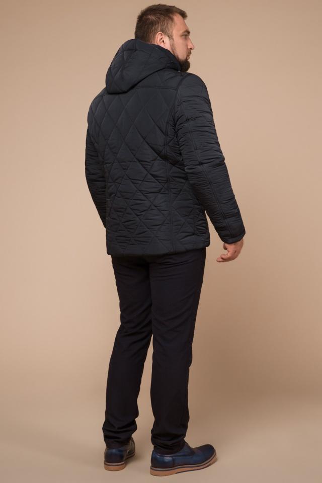 """Графитовая мужская куртка фирменная на зиму модель 19121 Braggart """"Dress Code"""" фото 5"""