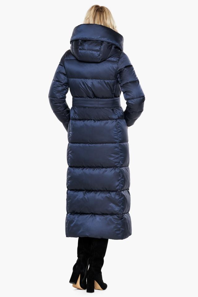 """Трендовая куртка женская цвет синий бархат модель 31056 Braggart """"Angel's Fluff"""" фото 8"""