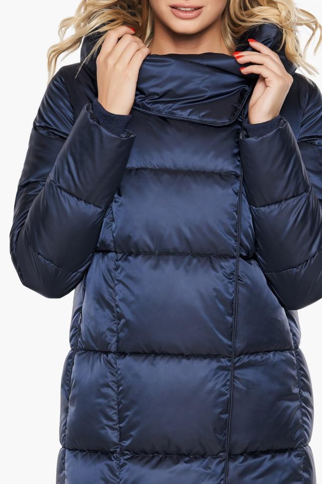"""Трендовая куртка женская цвет синий бархат модель 31056 Braggart """"Angel's Fluff"""" фото 9"""
