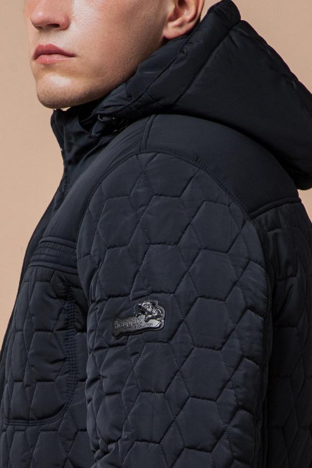 """Куртка брендовая для мальчика цвет тёмно-синий-чёрный модель 3570 Braggart """"Dress Code"""" фото 6"""