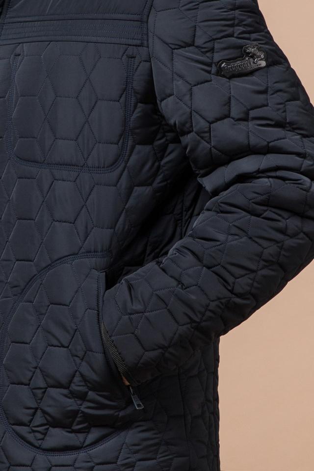 """Куртка брендовая для мальчика цвет тёмно-синий-чёрный модель 3570 Braggart """"Dress Code"""" фото 7"""