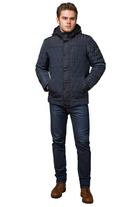 """Світло-синя коротка зимова куртка для чоловіків модель 30538 Braggart """"Dress Code"""" фото 1"""
