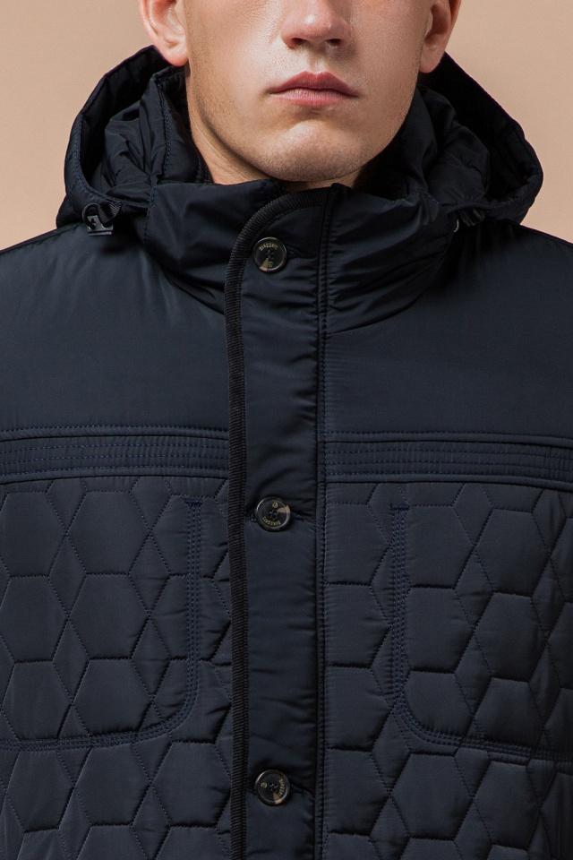 """Куртка брендовая для мальчика цвет тёмно-синий-чёрный модель 3570 Braggart """"Dress Code"""" фото 5"""