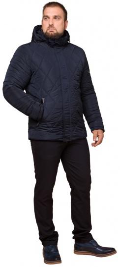 """Синяя практичная мужская куртка на зиму модель 19121 Braggart """"Dress Code"""" фото 1"""
