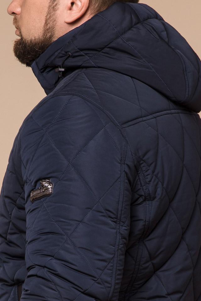 "Синя практична чоловіча куртка на зиму модель 19121 Braggart ""Dress Code"" фото 8"