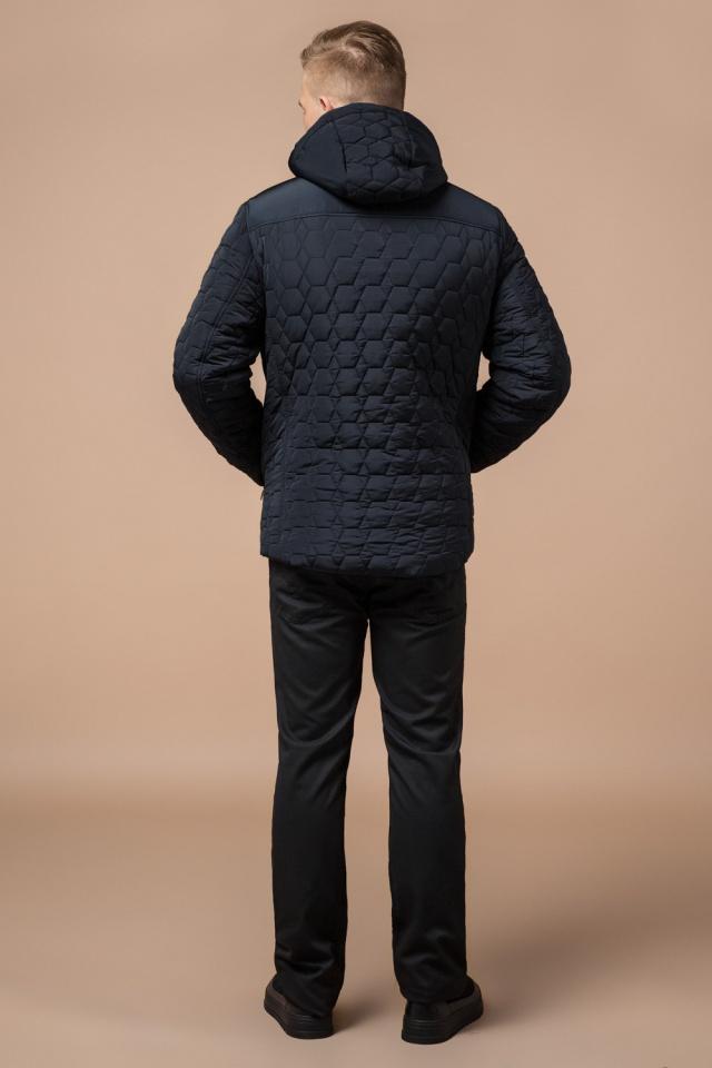 """Куртка брендовая для мальчика цвет тёмно-синий-чёрный модель 3570 Braggart """"Dress Code"""" фото 4"""
